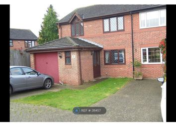 Thumbnail 3 bed semi-detached house to rent in Woodlea, Leybourne, West Malling