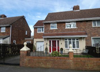 Thumbnail 4 bed semi-detached house for sale in York Hill Road, Spennymoor