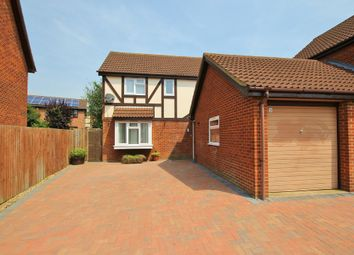Thumbnail 4 bed detached house for sale in Kestrel Close, Hartford, Huntingdon