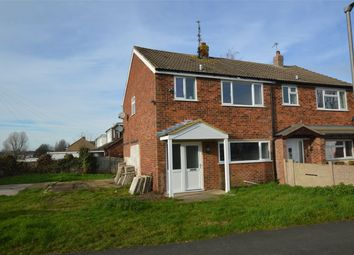 Thumbnail 3 bed semi-detached house to rent in Garratt Close, Long Lawford, Rugby, Warwickshire