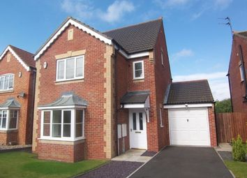 Thumbnail 4 bed detached house for sale in Nottingham Court, Bedlington