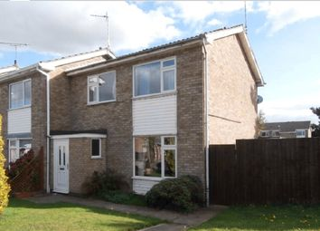Thumbnail 3 bed end terrace house to rent in Uppingham Drive, Broughton Astley, Leicester, Leicestershire