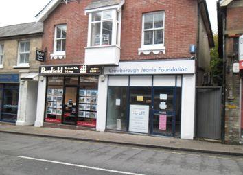Thumbnail Retail premises to let in High Street, Crowborough