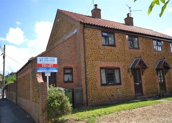 Thumbnail 2 bed semi-detached house to rent in Alma Road, Snettisham, King's Lynn