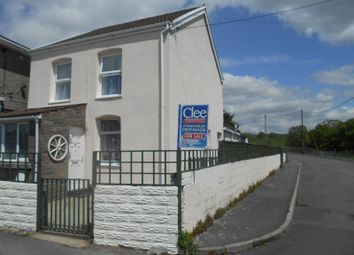 Thumbnail 3 bed detached house for sale in Brynbrain Road, Cefnbrynbrain, Swansea.