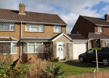 Thumbnail 3 bed semi-detached house for sale in Brixham Avenue, Old Walcot, Swindon