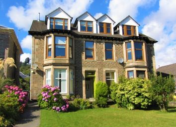 Thumbnail 4 bed flat for sale in Glenmorag Crescent, Dunoon
