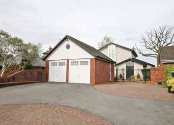 Thumbnail 4 bed detached house for sale in Lord Street, Croft, Warrington