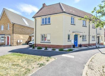 Thumbnail 3 bed semi-detached house for sale in Jackdaw Drive, Stanway, Colchester