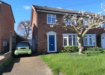 Thumbnail 3 bed semi-detached house for sale in Barley Mow Way, Shepperton