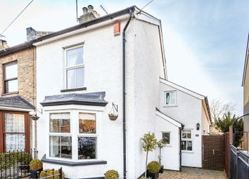 Thumbnail 4 bed semi-detached house for sale in Harvest Road, Englefield Green, Egham