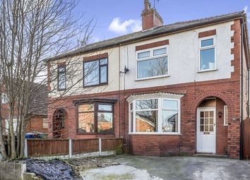 Thumbnail 4 bed semi-detached house for sale in Hall Lane, Leyland