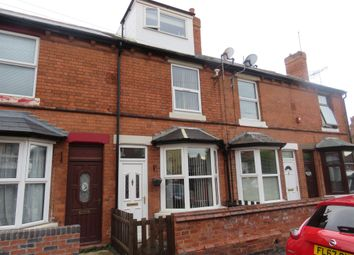 Thumbnail 3 bed terraced house for sale in Edgware Road, Bulwell, Nottingham