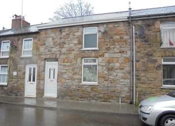 Thumbnail 2 bed terraced house to rent in Tynewydd Row, Ogmore Vale, Bridgend, Bridgend.
