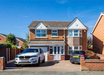 Thumbnail 4 bedroom detached house for sale in Calver Crescent, Wednesfield, Wolverhampton, West Midlands
