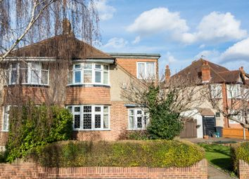 Thumbnail 4 bed semi-detached house for sale in Buxton Drive, New Malden