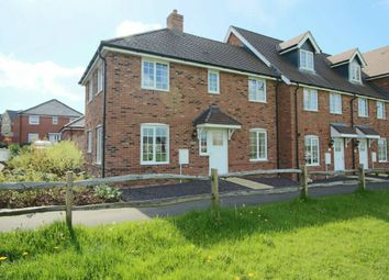 Thumbnail 3 bed end terrace house for sale in Fleece Close, Andover Down, Andover