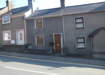 Thumbnail 2 bed terraced house for sale in Caernarvon Road, Pwllheli, Gwynedd