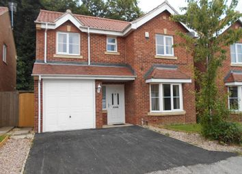 Thumbnail 4 bed detached house to rent in Moverley Way, Castleford
