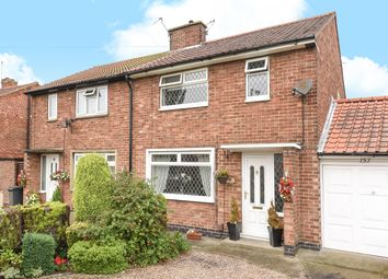 Thumbnail 3 bed semi-detached house for sale in Chaloners Road, Acomb, York