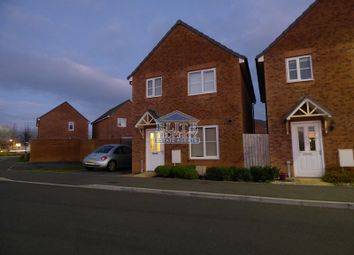 Thumbnail 3 bed detached house to rent in Llys Tre Dwr, Waterton, Bridgend County.