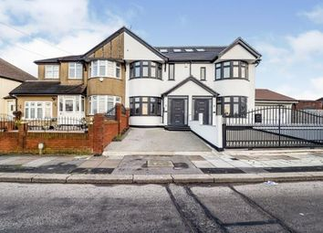 Thumbnail 4 bed terraced house for sale in Strafford Avenue, Clayhall, Ilford