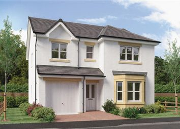 "Thumbnail 4 bed detached house for sale in ""Hughes"" at Springhill Road, Barrhead, Glasgow"