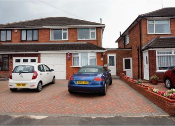 Thumbnail 3 bed semi-detached house for sale in Old Meadow Road, Birmingham