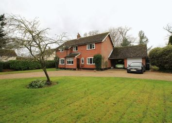 Thumbnail 4 bed detached house for sale in Norwich Road, Colton, Norwich
