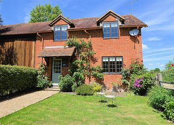 Thumbnail 3 bed semi-detached house to rent in New Street, Stratfield Saye, Reading