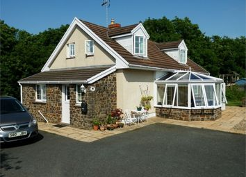 Thumbnail 4 bed detached bungalow for sale in Cross Inn, Near New Quay, Ceredigion