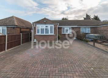 Thumbnail 3 bed semi-detached bungalow for sale in Warden View Gardens, Leysdown-On-Sea, Sheerness
