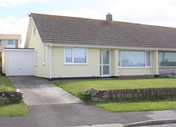 Thumbnail 3 bed semi-detached bungalow to rent in Penhallow Road, Newquay