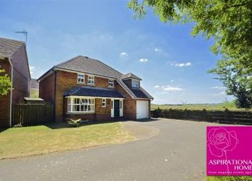 Thumbnail 4 bed detached house for sale in Adams Close, Stanwick, Northamptonshire