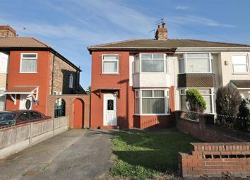 Thumbnail 3 bed semi-detached house for sale in Blundell Road, Widnes, Cheshire