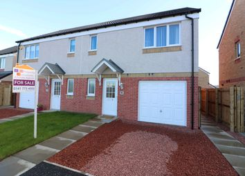 Thumbnail 3 bed semi-detached house for sale in Craigswood Crescent, Baillieston