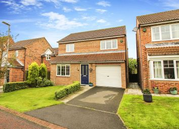 Thumbnail 3 bed detached house for sale in West Meadows, Chopwell, Newcastle Upon Tyne