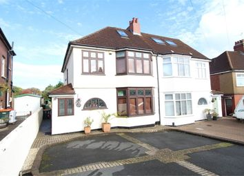 Thumbnail 4 bed semi-detached house for sale in Allt-Yr-Yn Close, Newport