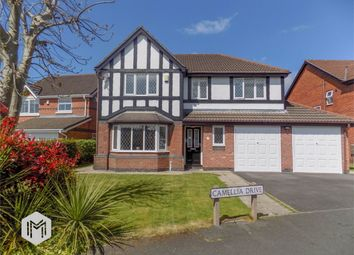 Thumbnail 4 bed detached house for sale in Camellia Drive, Leyland, Lancashire