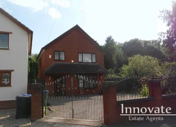 Thumbnail 4 bed detached house for sale in Brook Lane, Cradley Heath