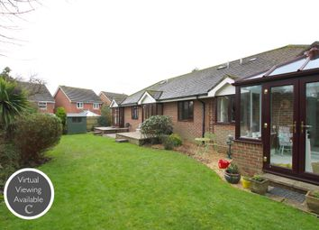 Thumbnail 1 bed detached bungalow for sale in Pyrford Gardens, Belmore Lane, Lymington, Hampshire