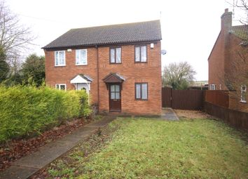 Thumbnail 2 bed semi-detached house to rent in Stonegate, Cowbit, Spalding, Lincolnshire