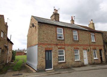 Thumbnail 2 bed end terrace house for sale in West Fen Road, Ely