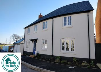 Thumbnail 3 bed detached house for sale in Greys Field, Chickerell, Help To Buy Available