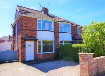 Thumbnail 3 bedroom semi-detached house for sale in Caxton Avenue, York