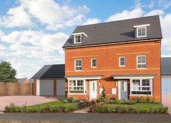 "Thumbnail 4 bedroom semi-detached house for sale in ""Woodbridge"" at Station Road, Methley, Leeds"