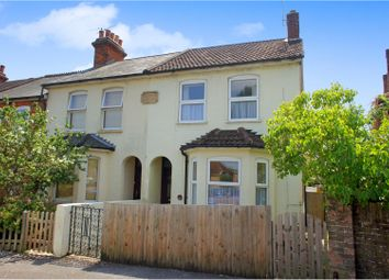 Thumbnail 2 bed end terrace house for sale in Holly Road, Aldershot