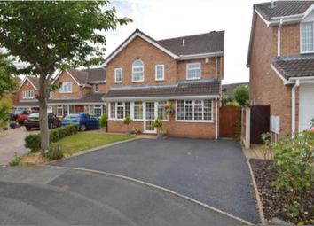 Thumbnail 4 bed detached house for sale in Holmes Close, Stafford