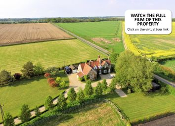 Thumbnail 4 bed detached house for sale in East Walton, King's Lynn