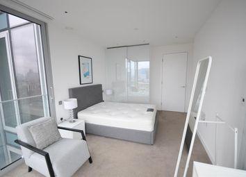 Thumbnail 1 bedroom flat to rent in Meranti House, Goodman's Field, London